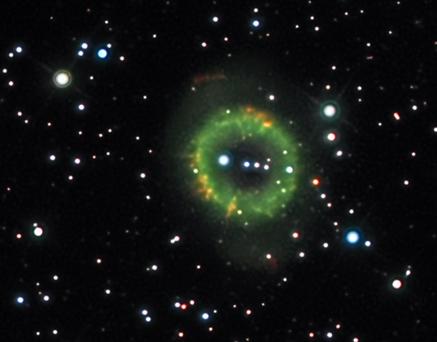 NGC 6337 Josef Pöpsel és Beate Behle (Capella Observatory) 60 cm-es Hypergraphal készült fotóján.