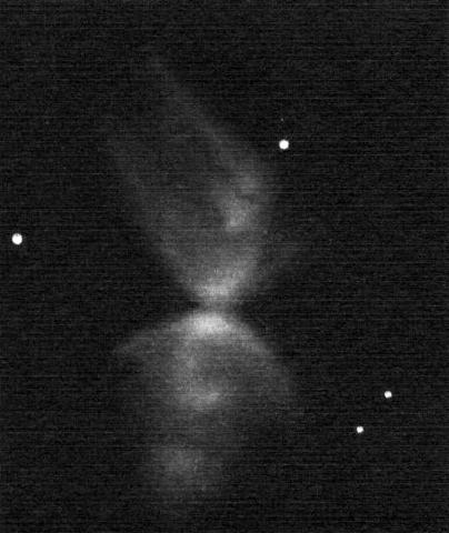 NGC 6302, pozitívba fordított rajz.