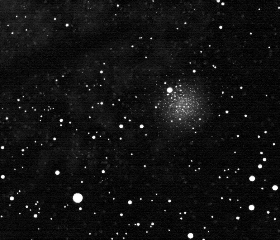NGC 4372 drawing inverted into positive.
