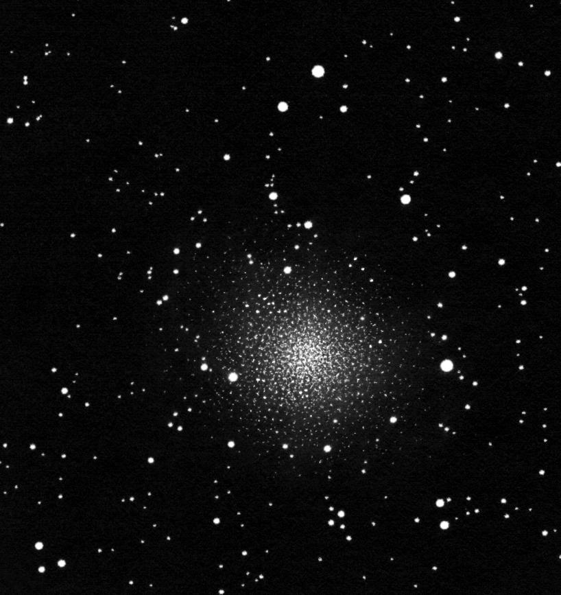 NGC 5139, pozitívba fordított rajz.