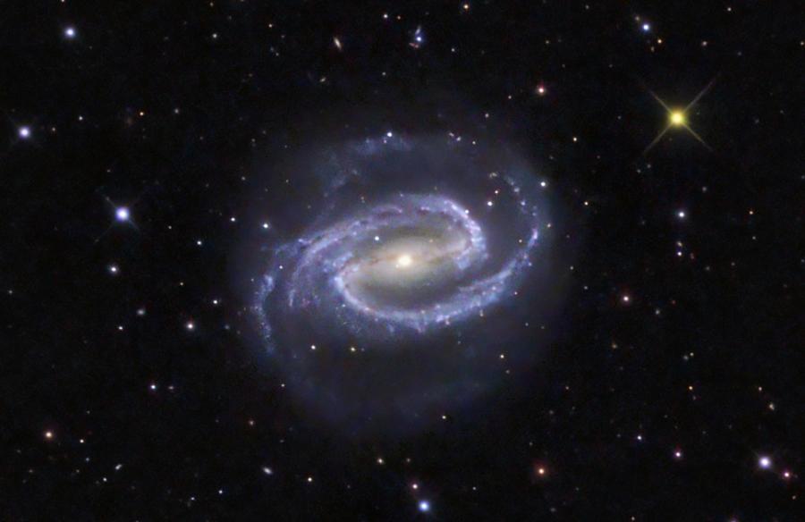 NGC 1300 Don Goldman fotóján, amit 36.8 cm-es távcsővel készített.