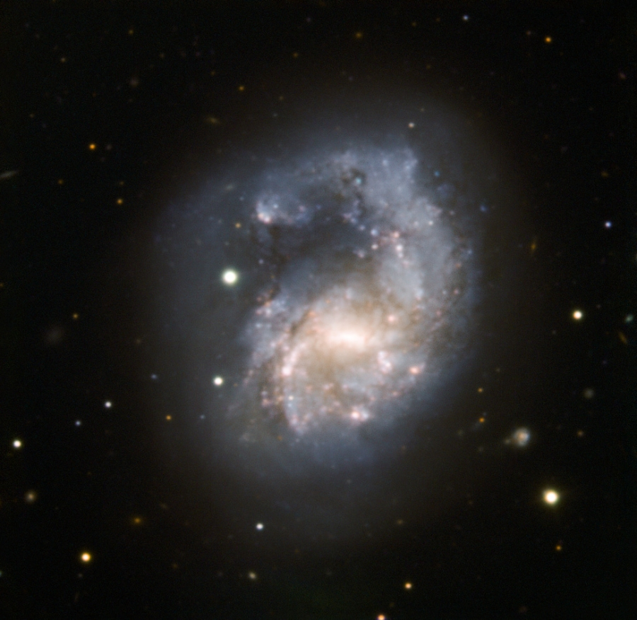 NGC 4027 photograph by ESO (European Southern Observatory) using the 3.58 m NTT and EFOSC2.