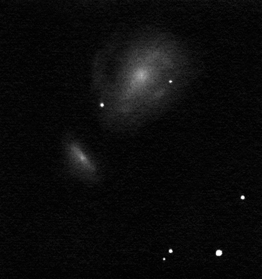 NGC 7752-53 drawing inverted into positive.