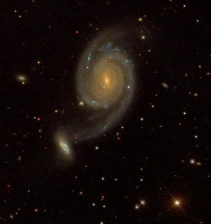 NGC 7752-53 photograph by SDSS (Sloan Digital Sky Survey).