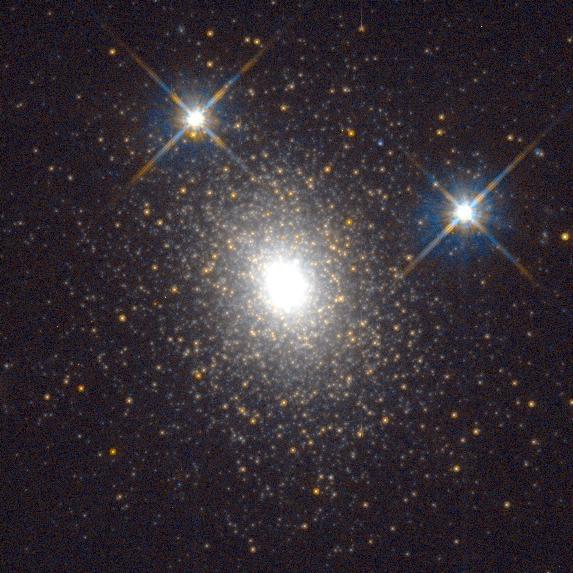 Mayall II (NGC 224 G1) a Hubble Űrtávcső (HST, Hubble Space Telescope) felvételén.