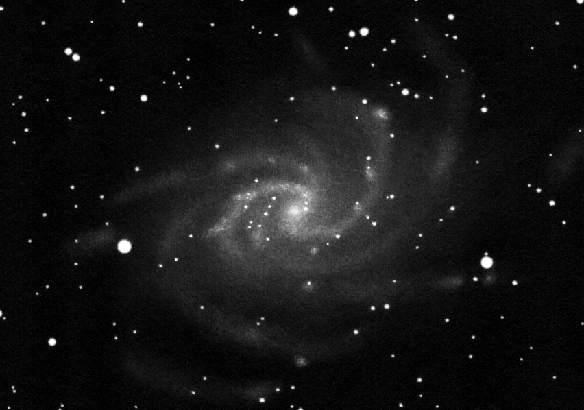 M 33 drawing inverted into posotove.