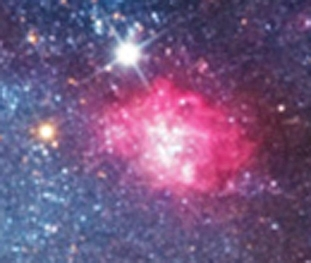 The star forming region NGC 604 in M 33 on Iván Éder's photograph made using his 12
