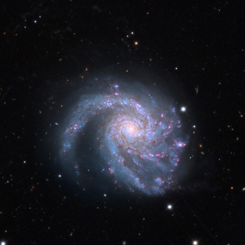 Adam Block felvétele az M 99 spirálgalaxisról.