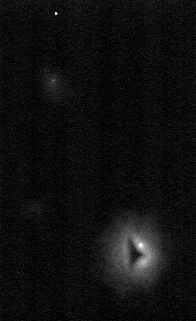 NGC 1999 drawing inverted into positive.