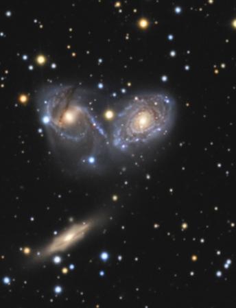 Az NGC6769-70-71 Tóth Krisztián felvételén, amit 51 cm-es CDK asztrográffal készített.