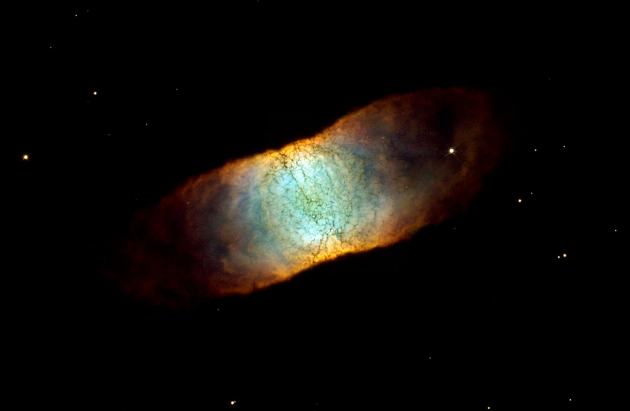Hubble Space Telescope (HST) photo of IC 4406.
