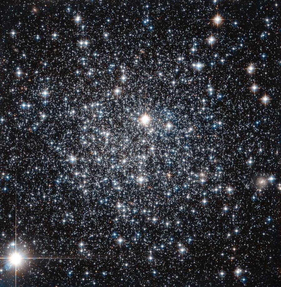IC 4499 a Hubble Űrtávcső (HST) felvételén