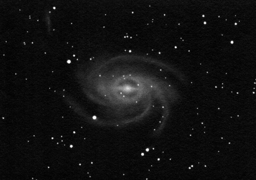 NGC 6744, pozitívba fordított rajz.