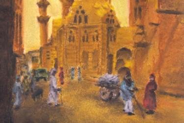 Kairói utcakép