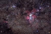 Eta Carinae-köd és környezete