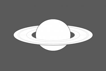 Szaturnusz észlelőlap készítése