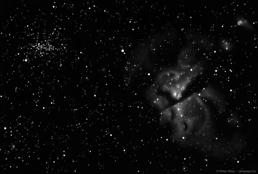 Eta Carinae panorama drawing